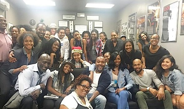 Surprise! Lee Daniels Visits Actor's Workshop [Photos]