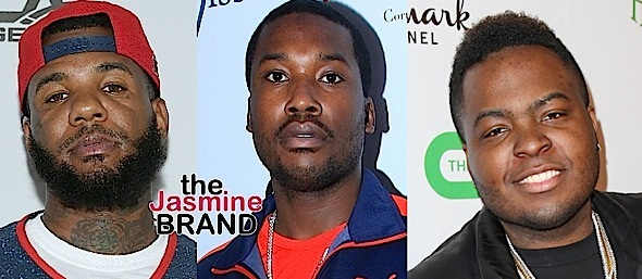 Meek Mill Calls The Game A 'Fake Gangsta', Beef Started Over Sean Kingston Robbery [Photos]