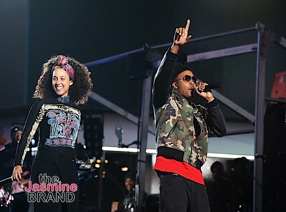 Alicia Keys Shuts Down NYC With Jay Z, Nas & John Mayer [Photos]