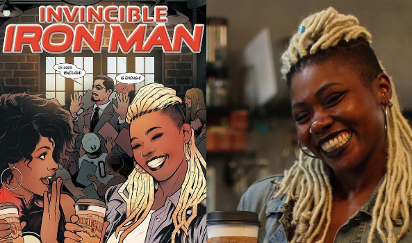 Ariell Johnson Makes History! 1st Black Woman To Own Comic Shop, Snags Marvel Cover