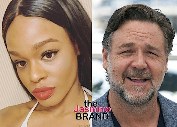 Russell Crowe Won't Be Charged For Allegedly Choking & Spitting On Azealia Banks