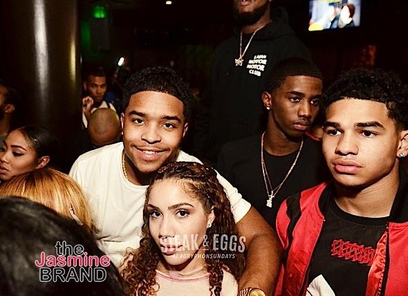 Young M.A, Justin Combs & Christian Combs Party at DC's GRYPHON SUNDAYS [Photos]