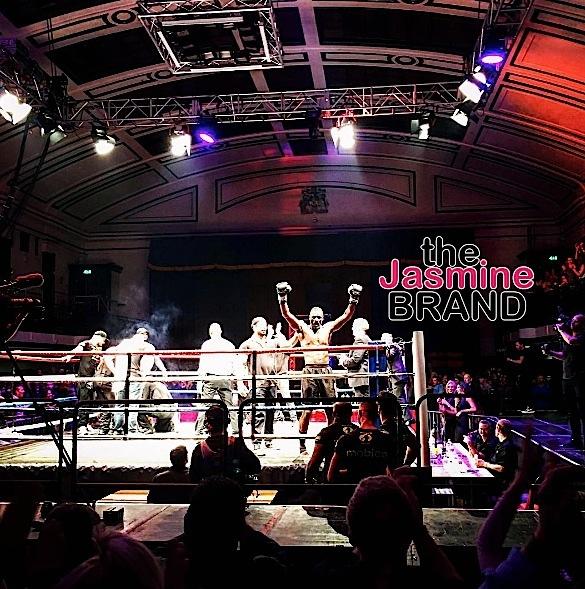 Idris Elba Wins His 1st Professional Kick Boxing Fight [VIDEO]