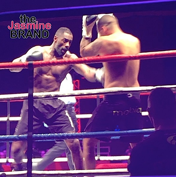 Idris Elba Wins His 1st Professional Kick Boxing Fight [VIDEO]