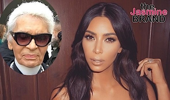 Karl Lagerfeld To Kim Kardashian: It's YOUR Fault You Were Robbed!