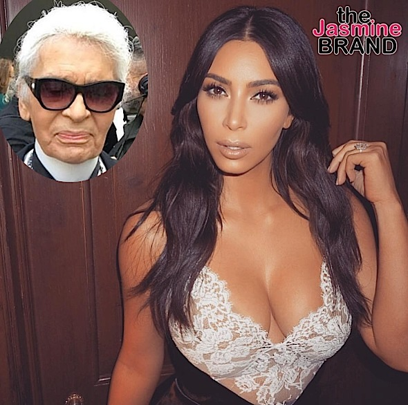 Karl Lagerfeld To Kim Kardashian: It's YOUR Fault You Got Robbed!