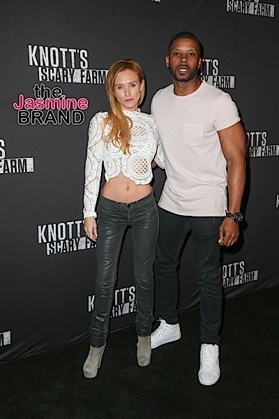 09/30/2016 - Nicky Whelan, Kerry Rhodes - 2016 Knott's Scary Farm Black Carpet Event - Arrivals - Knott's Berry Farm, 8039 Beach Boulevard - Buena Park, CA, USA - Keywords: Vertical, Portrait, Photography, Arrival, Arts Culture and Entertainment, Attending, Celebrities, Celebrity, Person, People, Knotts Berry Farm, Bash, Social Event, Halloween, Theme Park, Global Attraction, California Orientation: Portrait Face Count: 1 - False - Photo Credit: PRPhotos.com - Contact (1-866-551-7827) - Portrait Face Count: 1