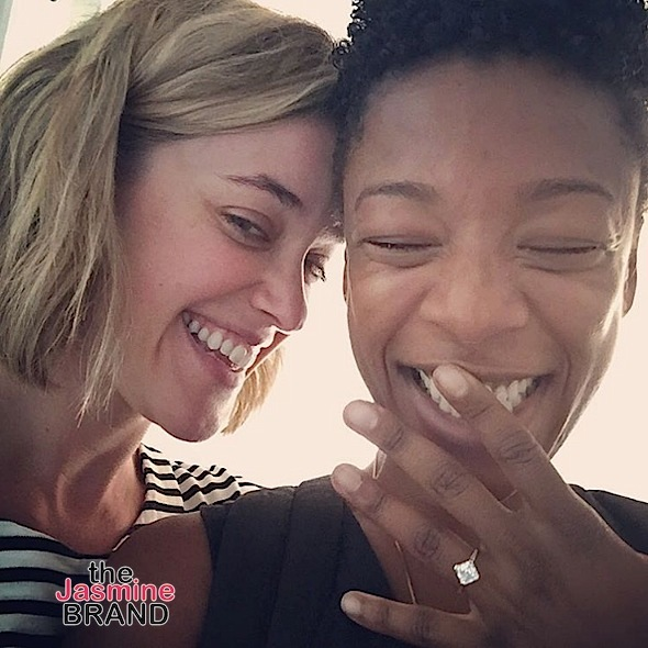 Orange Is the New Black Actress Samira Wiley & Writer Lauren Morelli Engaged [Photo]