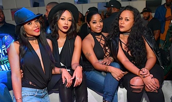 Monyetta Shaw, Keri Hilson, Toya Wright, Meek Mill Party At SL Lounge [Photos]