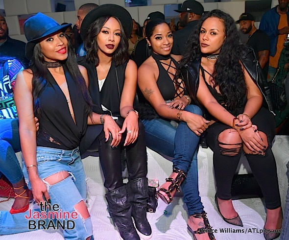 Monyetta Shaw, Keri Hilson, Toya Wright, Meek Mill Part At SL Lounge