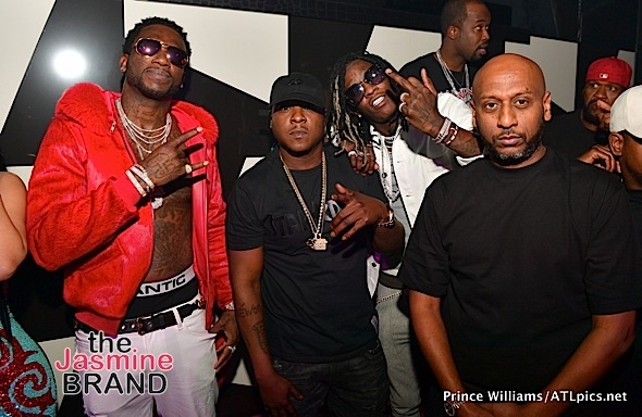 Meek Mill, Young Thug, Gucci Mane, 2 Chainz, Keyshia Dior Party in ATL [Photos]