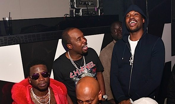 Meek Mill, Young Thug, Gucci Mane, 2 Chainz, Keyshia Ka'oir Party in ATL [Photos]