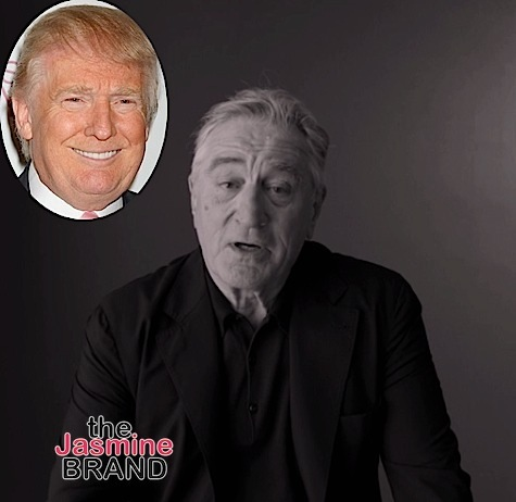 Robert De Niro Wants To Punch Donald Trump In the Face: He's a punk, a dog, a pig. [VIDEO]