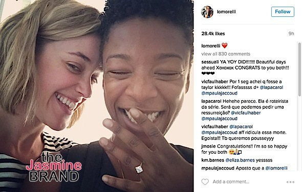 Orange Is the New Black Actress Samira Wiley & Writer Lauren Morelli Engaged [Photo]