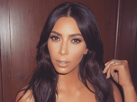 How Ironic! Kim Kardashian Filming Jewelry Heist Scene For New Movie