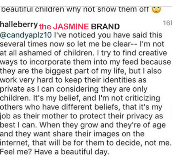 Here's Why You Won't See Halle Berry's Children Plastered On Social Media: I'm not ashamed of my kids!