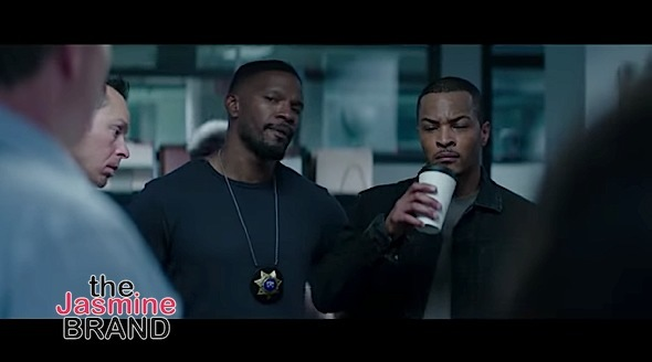 """Sleepless"" Trailer Starring Jamie Foxx, Tip 'T.I.' Harris & Gabrielle Union [VIDEO]"
