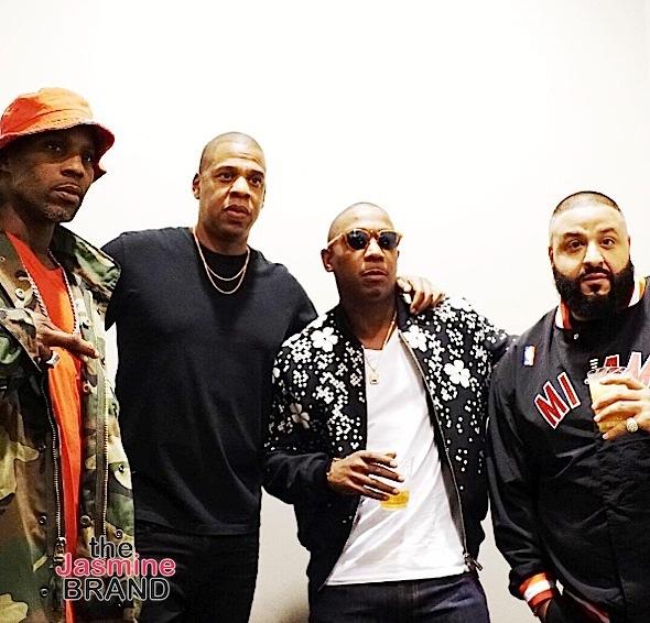 DMX, Jay Z, Ja Rule, DJ Khaled