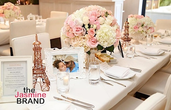 Adrienne Bailon & Israel Houghton Host Wedding Shower