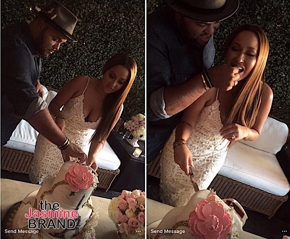Adrienne Bailon & Israel Houghton Host Wedding Shower [Photos]