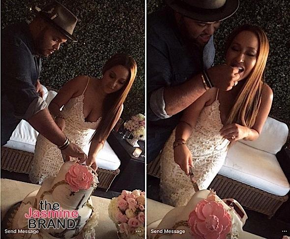 Adrienne Bailon & Israel Houghton Host Wedding Shower [Photos]
