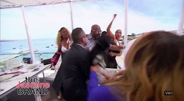 Reality Stars Tami Roman & DJ Duffey Almost Come To Blows In Portugal [VIDEO]