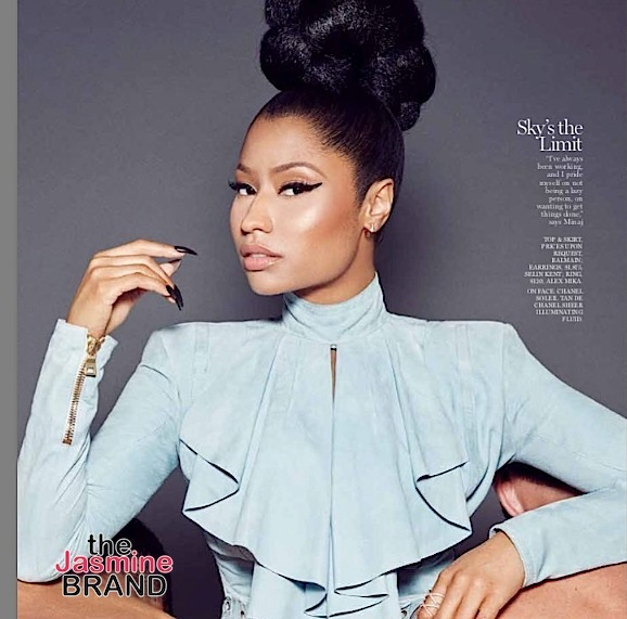 Nicki Minaj's Advice To Women: Become an entrepreneur, a career-driven woman.
