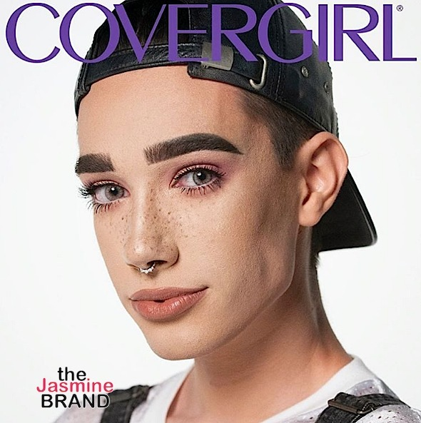 Cover Girl Signs It's First Ever Male, James Charles [Photos]