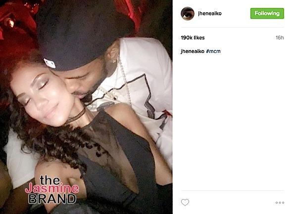 Jhene Aiko & Big Sean Have NOT Broken Up [Photos]