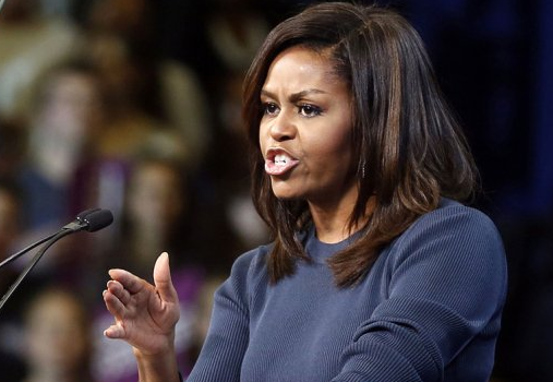 Michelle Obama Is Sick Of The Chaos & Nastiness In Politics