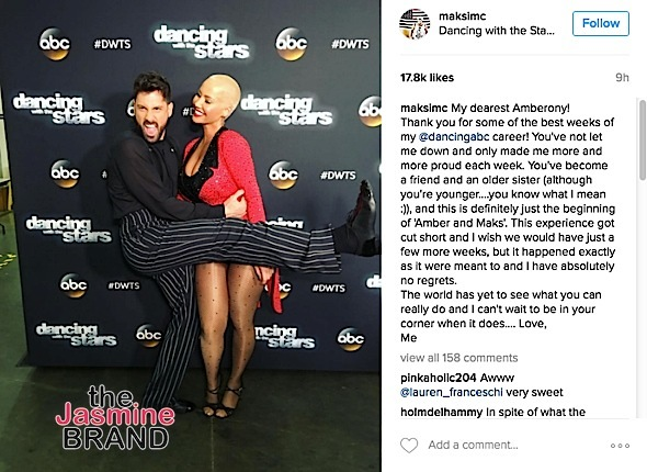 Amber Rose Voted Off 'Dancing With The Stars'