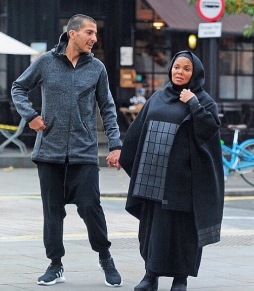 Janet Jackson & Husband Make 1st Public Appearance Since Pregnancy Announcement