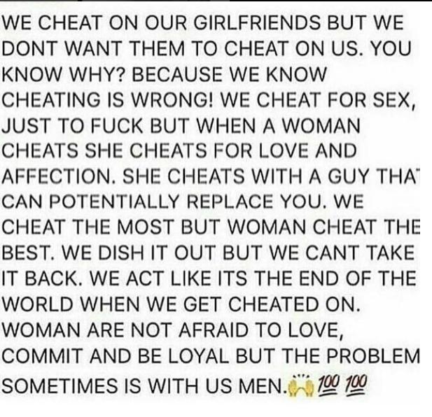 Chris Brown Explains Why Men Cheat