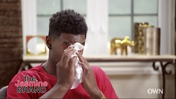 Kevin McCall In Tears While Opening Up About His Father [VIDEO]