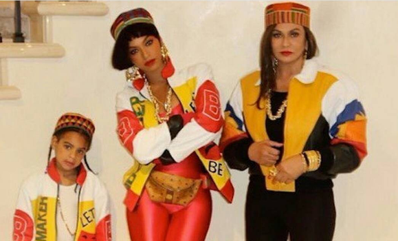 Beyonce, Blue Ivy & Tina Lawson Transform Into SaltNPepa + Kelly Rowland Goes 'Clueless' [Photos]