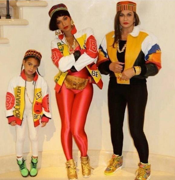 Beyonce, Blue Ivy & Tina Lawson Transform Into SaltNPepa + Kelly Rowland Goes 'Clueless' [Photos]