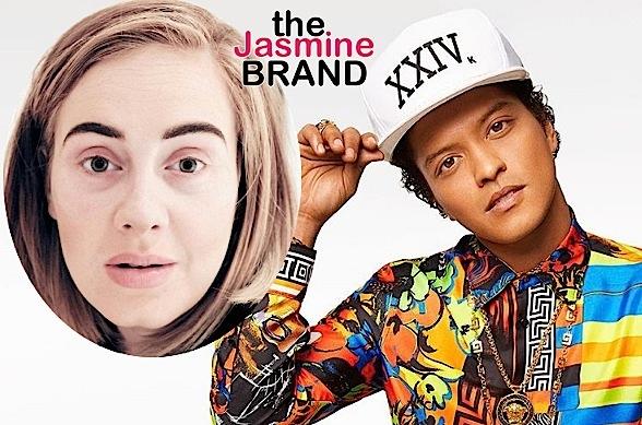 Bruno Mars Calls Adele A Diva With An Attitude