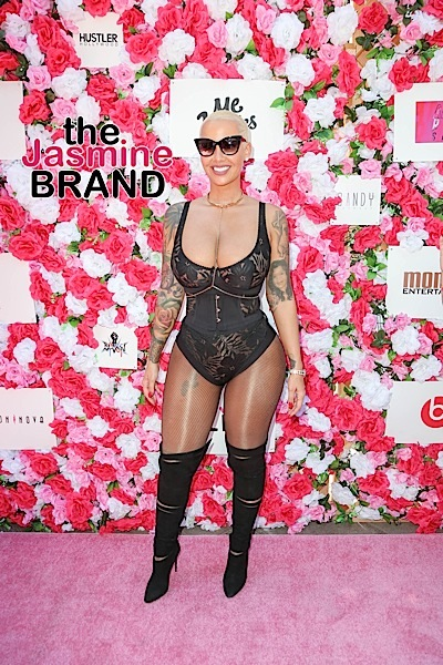 Amber Rose: Don't blame us, blame the rapists!