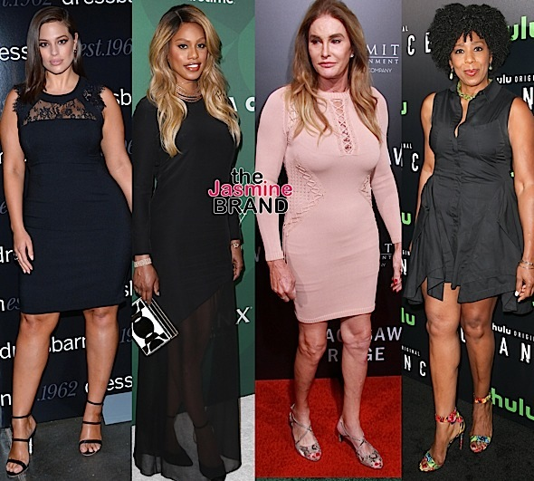 Celebrity Stalking: Ashley Graham, Laverne Cox, Caitlyn Jenner, Dawn Lewis, Ashley Madekwe, Cynthia Addai-Robinson