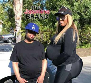 Blac Chyna & Son King Cairo Dress Up As Rob Kardashian [Photos]