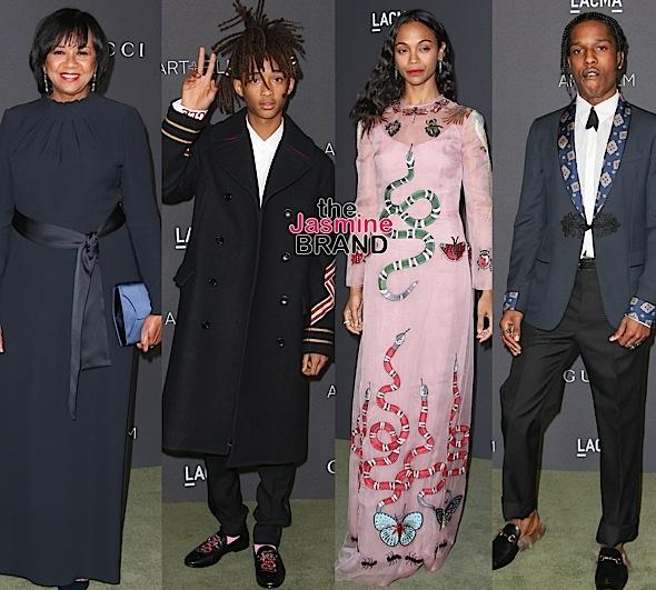 Jaden Smith, A$AP Rocky, Zoe Saldana, Cheryl Boone Isaacs Hit LACMA Gala [Photos]