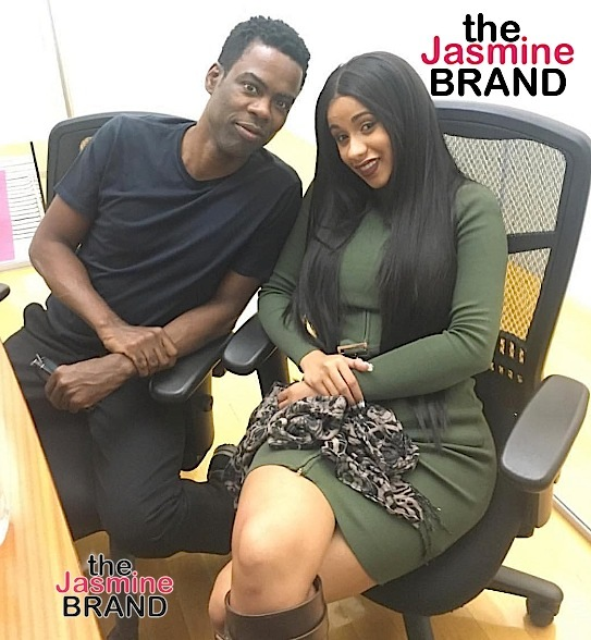 Chris Rock Once Pitched A Cardi B Comedy Series Before Her Rap Career Took Off: She's 1 Of The Funniest People