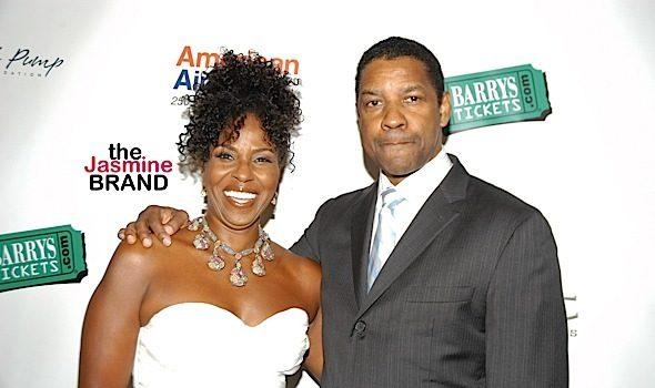 Denzel Washington Reveals The Key To His Happy, 35 Year Marriage: I Do What I'm Told, I Keep My Mouth Shut