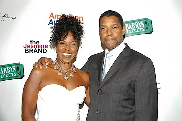 Denzel Washington Reveals The Key To His Happy, 35 Year Marriage: I Do What I'm Told, I Keep My Mouth Shut