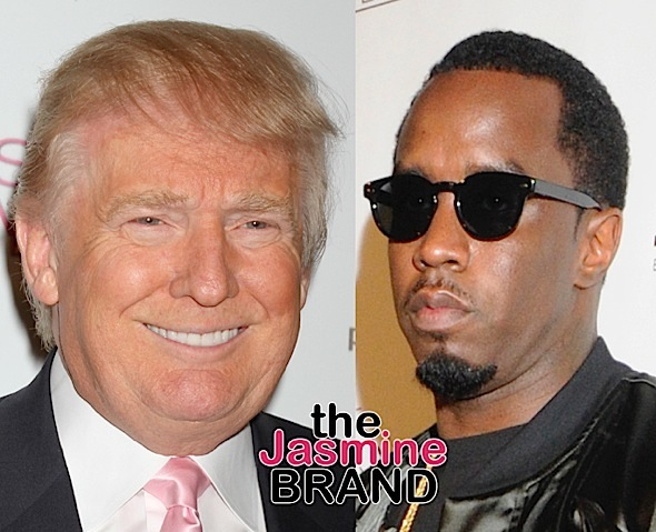 Diddy Says We're On The Verge Of A Race War & The Priority Is Getting Trump Out Of Office: White People Should Be Scared To Death Of This Man!