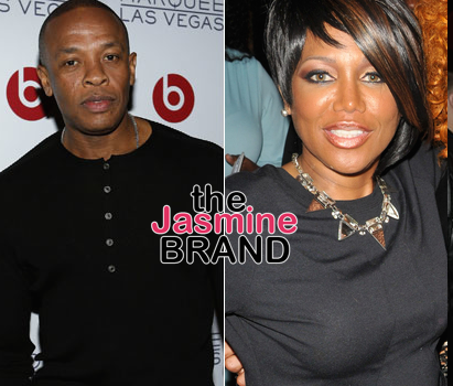 Michel'le Didn't Leave Dr. Dre After He Continued To Beat Her Because: It was normal.