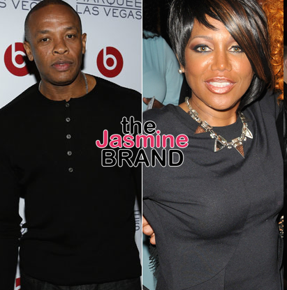 Michel'le Prepping Book + Dr. Dre & Suge Knight Remain Mum