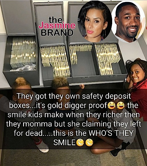 Gilbert Arenas Taunts Laura Govan On SnapChat, After Revealing He Can't Afford Kid's Private School [VIDEO]