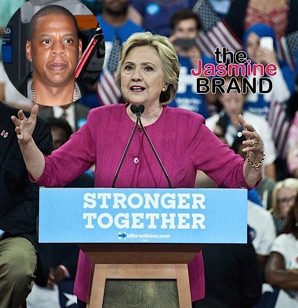 Jay Z To Headline Hillary Clinton Concert