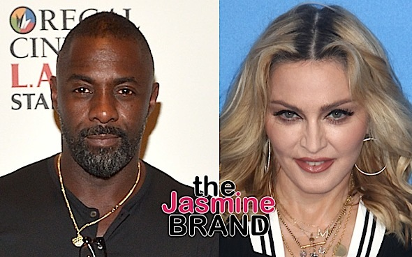Idris Elba & Madonna Dating? Pair Spotted Kissing In London Club